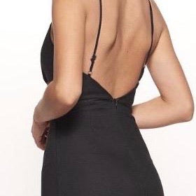 Twisted Black Dress