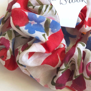 Floral Frenzy Scrunchie