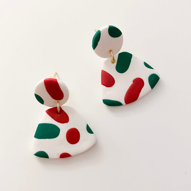 Christmas Drop Earrings