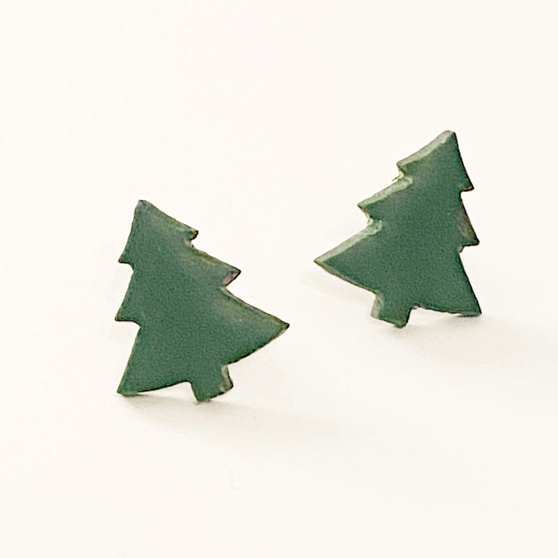Dainty Tree Earrings