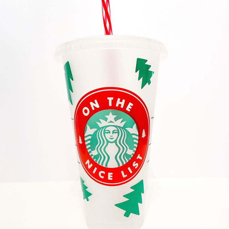 On The Nice List Tumbler