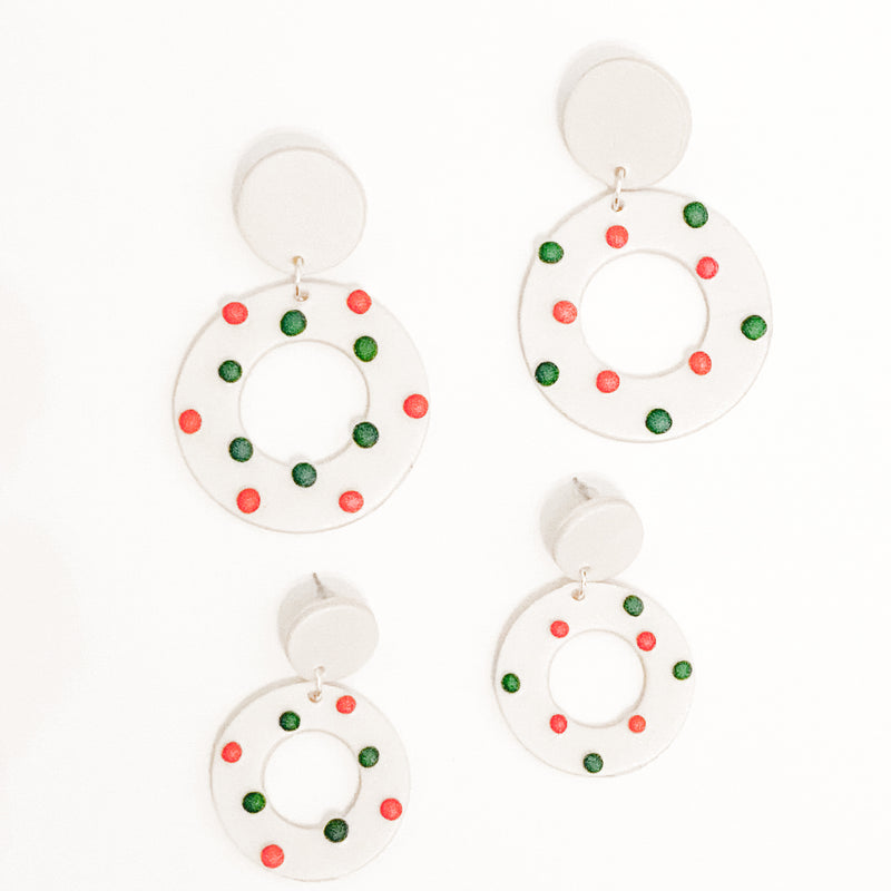 Holiday Funfetti Hoops