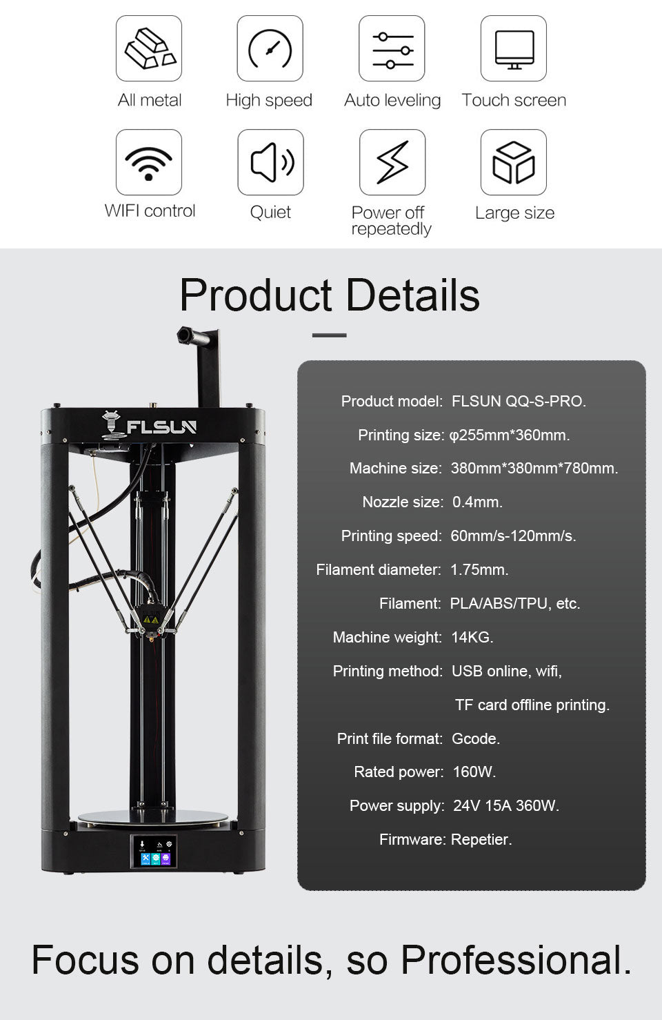 Flsun's 3D printer is the top-selling in the country because it is the best in the 3D printing space.