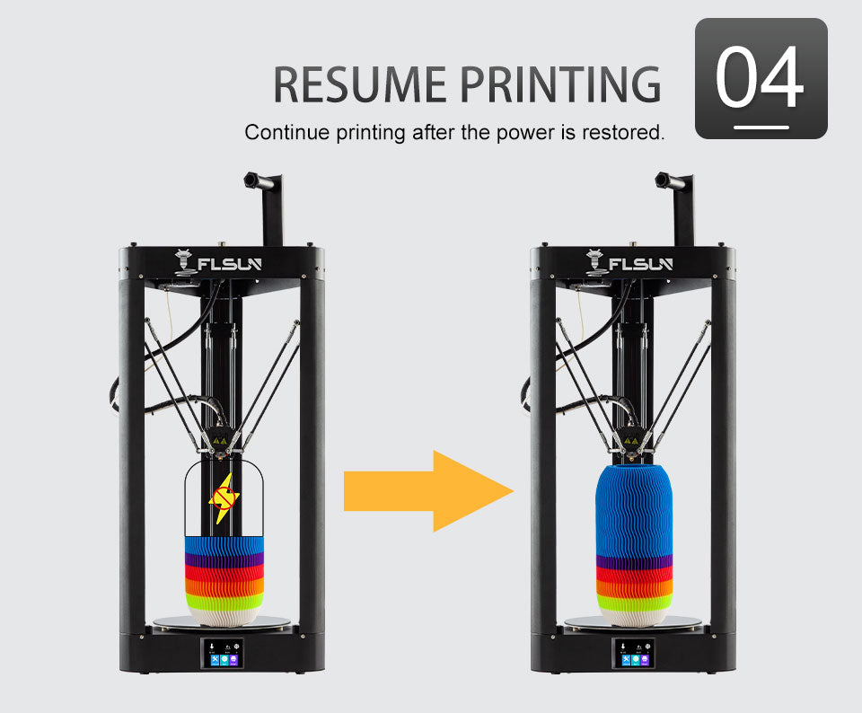 Flsun QQ-S Pro 3D Printer can do an efficient, good-sized print, and is easy to use with it's metal frame.