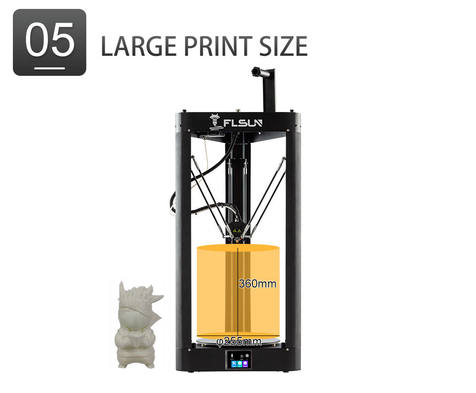 Flsun QQ-S Pro is the perfect 3D printer for people who are looking for an affordable device that is fast, can produce large prints, and is user-friendly.