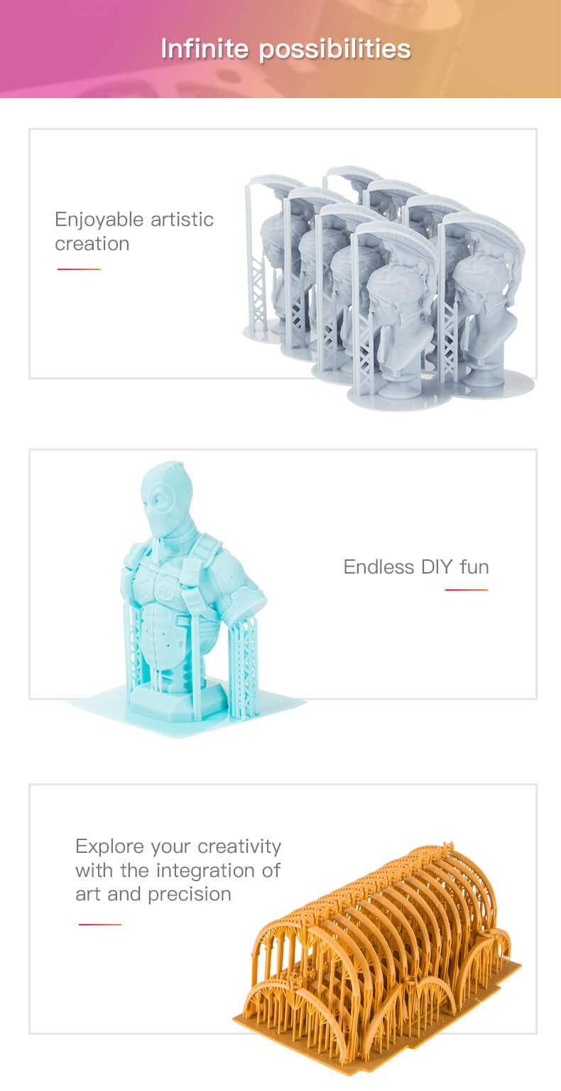 As a result, the LD-002R Resin is a quality 3D printer that is easy to assemble, reliable, and affordable. This makes it a popular option that has a large amount of consumers.