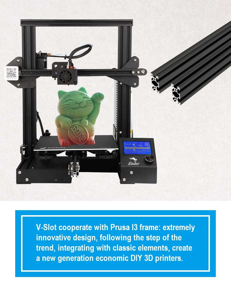 Creality Ender-3 PRO Perth best selling 3D Printer.