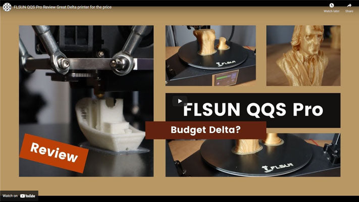 FLSUN QQS Pro Review Great Delta printer for the price
