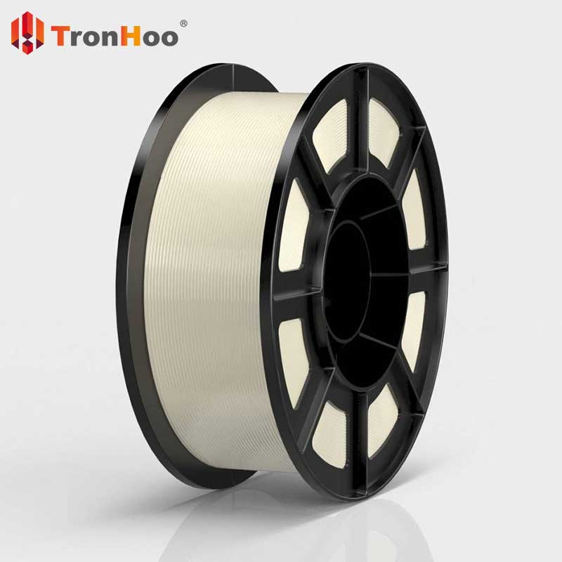 TronHoo PLA 3D filament is made from natural and environment-friendly raw materials.
