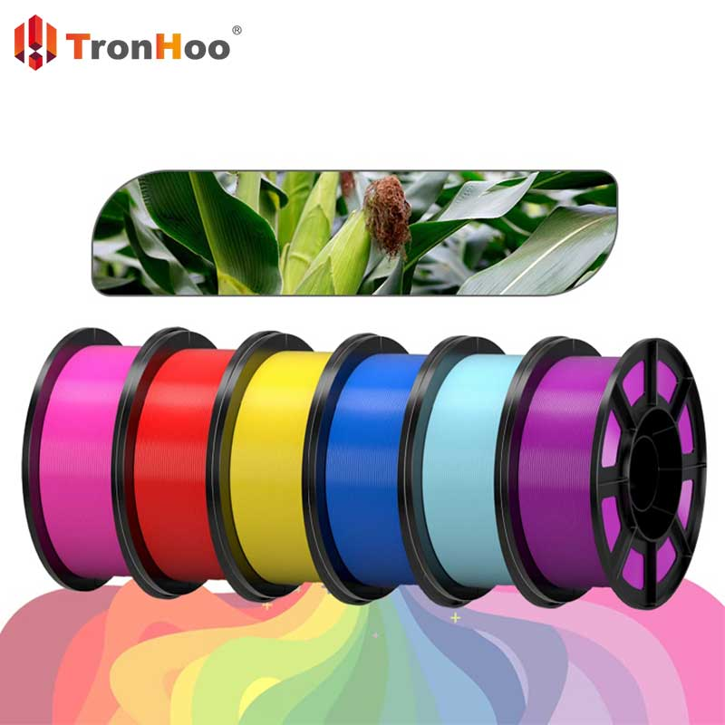 You will also love using TronHoo PLA 3D filament because it is environmentally friendly!