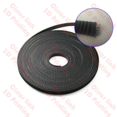 GT2 open 6mm Width Timing sync Belt with wire inside per 1 Meter