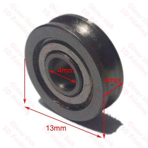 U604ZZ Ball Steel Bearing ABEC-5 with oil for 3D Printer 1 each