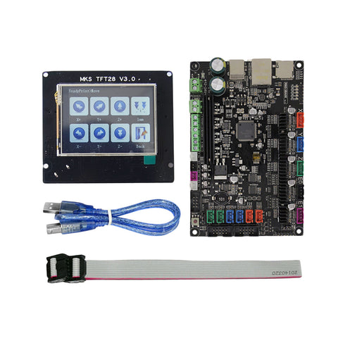 MKS SBASE V1.3 Control Board with MKS TFT28 2.8 inch Full Color Touch Screen Set 3D Printer Parts