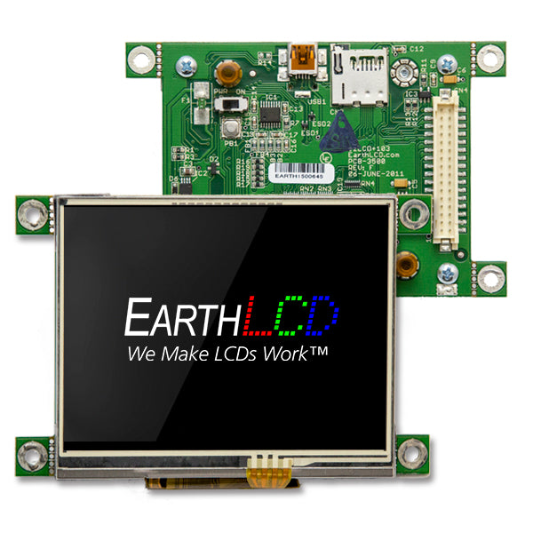 "3.5"" ezLCD-103 with Touch"