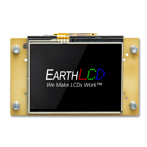 "ezLCD-303 - A 3.5"" Smart, Touch LCD"