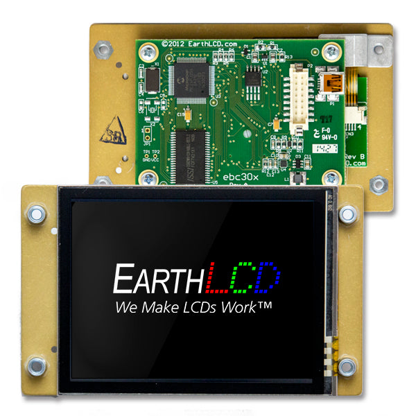"ezLCD-313 - Indoor/Outdoor, Sunlight Readable,  3.5"" Smart LCD"