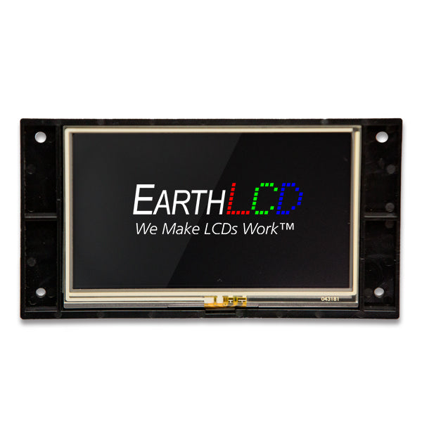 "ezLCD-304 - 4.3"" Smart, Touch LCD"