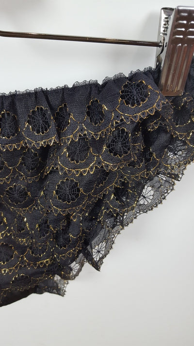 Gold Rush Lace Panty