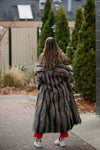 rock star party coat | vintage fur