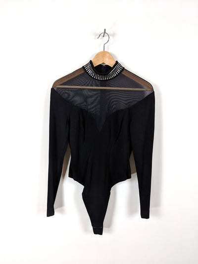 black diamonds | vintage tadashi bodysuit
