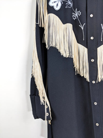 vintage western top | on the fringe