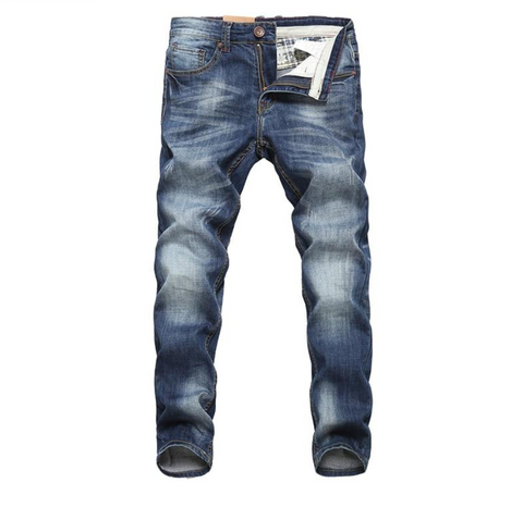 Designer Biker Jeans For Men, High Quality Cotton Denim Trousers