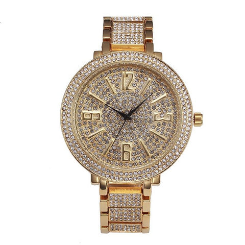 Diamond Watch Men & Women | Iced Out Hip-Hop Watch | Rudiment Sellers