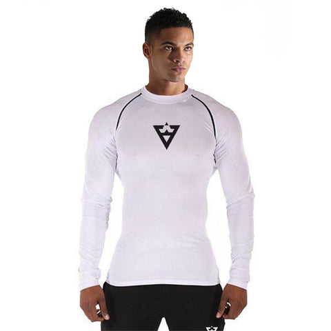 Compression Dry-Fit T-Shirts for Men, Full Sleeves Gymming T-Shirt
