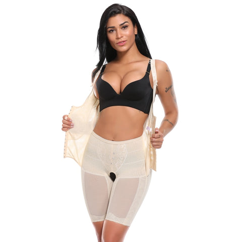 Thigh and Waist Slimming Shaper, Corset Top Body Shaper for Women