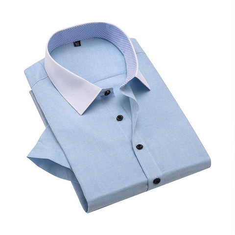 Half Sleeve Slim Fit Formal Shirt for Men