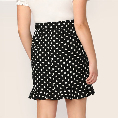 Plus Size Clothing | Plus Size Skinny Short Skirt | Rudiment Sellers