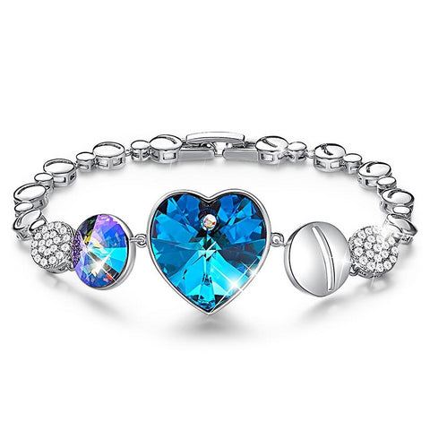 Charm Bracelets with Crystals For Women, Women Bangles & Bracelets
