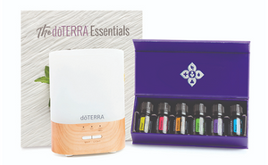 Emotional Aromatherapy Kit with Diffuser and Display Box