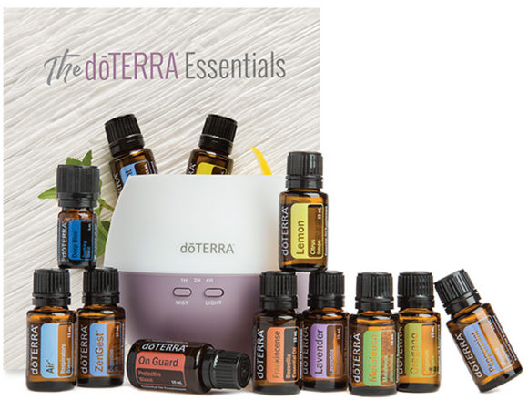 Home Essentials Kit, includes diffuser
