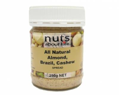 Almonds, Brazil and Cashew Spread