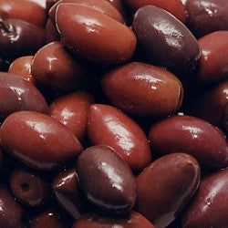 Olives Kalamata Whole Pitted (Tin 18kg)