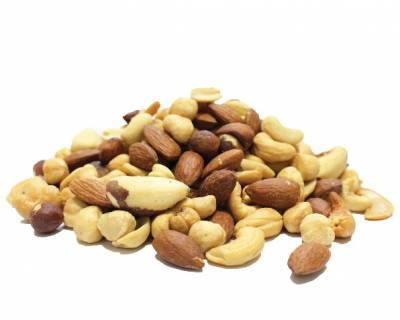 Mixed Nuts Roasted Unsalted (No Peanuts)