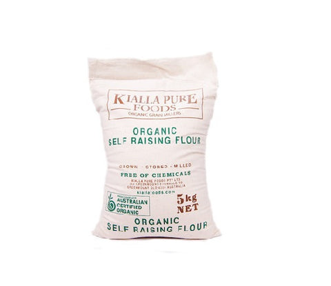 Organic Unbleached Self-Raising Flour (Plain)