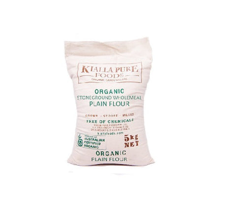 Organic Stone Ground Wholemeal Flour (Plain)