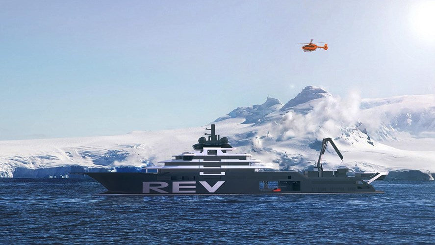 Hi-tech ship to tackle ocean sustainability.