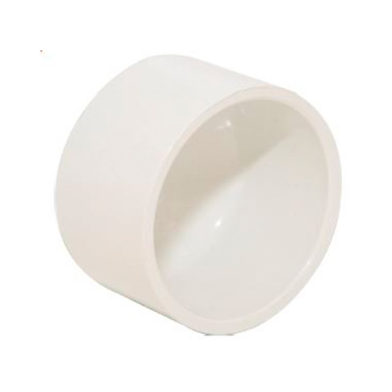 TAPA LISA PVC CED40 3/4PULG(19MM)