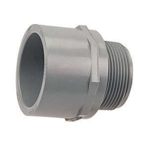ADAPTADOR MACHO CPVC CED80 SI 4PULG(100MM)