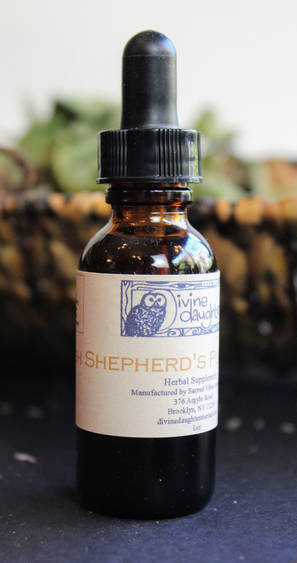 Fresh Shepherd's Purse Tincture
