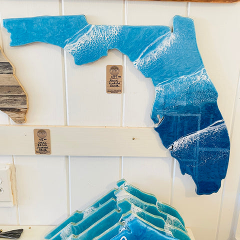 #M10 Tropical Blue Resin Florida