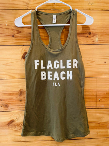 Flagler Beach FLA Tank Top