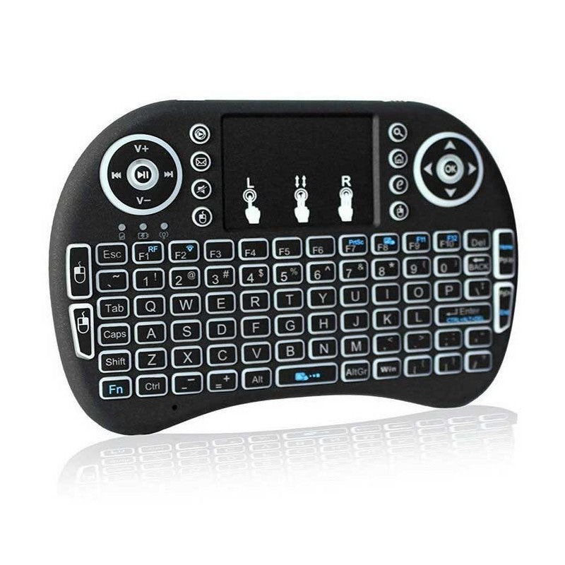 Bluetooth Mini Wireless Touchpad Keyboard With Built-In Mouse