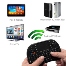 Load image into Gallery viewer, Bluetooth Mini Wireless Touchpad Keyboard With Built-In Mouse