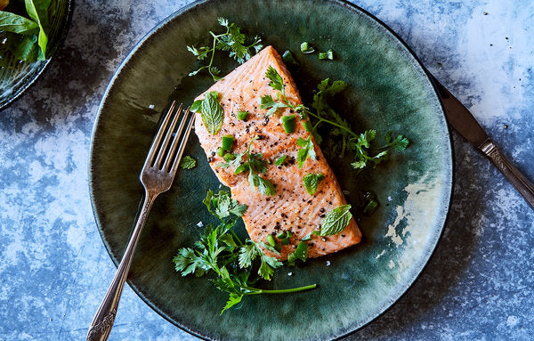 Pan-Roasted Salmon With Jalapeño - Perfect Weeknight Dinner