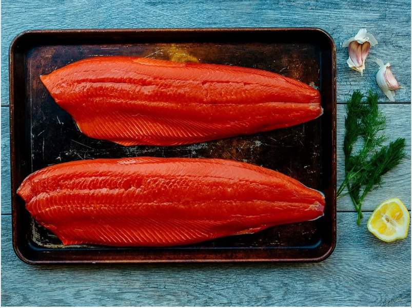 Here's Why Salmon are Pink, Orange or Red