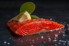 Load image into Gallery viewer, Buying Club SALMON PORTIONS 20 LB CASE  •  $14.50/lb